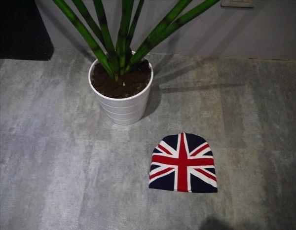 找到自己毛帽設計 英國國旗 毛帽