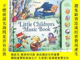 二手書博民逛書店英文原版Little罕見Children s Music Boo