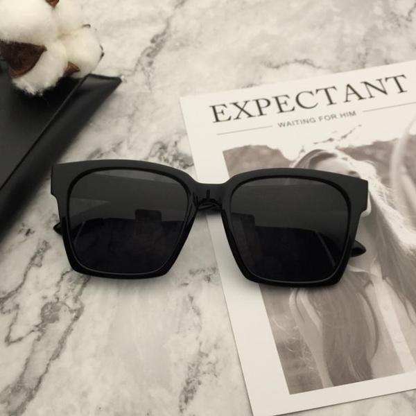 太陽眼鏡TR90超輕男士墨鏡偏光太陽鏡女潮司機開車大框方形  後街五號