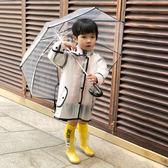 兒童雨具  兒童雨衣男童女童小童幼稚園寶寶小學生透明雨披雨具  蒂小屋服飾
