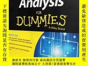 二手書博民逛書店Circuit罕見Analysis FOR DUMMIES A