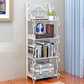 置物架  客廳落地簡約臥室金屬不銹鋼儲物廚房浴室多層組裝  AB820 【棉花糖伊人】