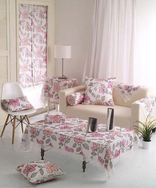 心花怒放桌巾-110x170cm 歐式 桌布 餐墊 ins 居家布置