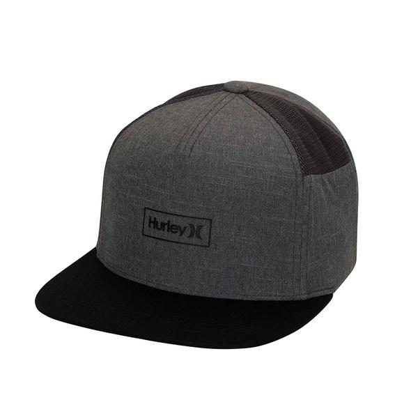 HURLEY 配件 PHANTOM LOCKED 2.0 DK SMOKE GREY 棒球帽-PHANTOM
