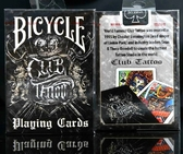 【USPCC 撲克】撲克牌 BICYCLE Club Tattoo 刺青撲克