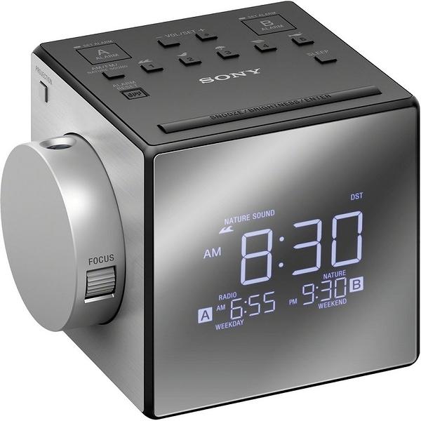 ::bonJOIE:: SONY ICF-C1PJ 黑色 投影式 雙鬧鐘電子鬧鐘 (全新盒裝) Alarm Clock Radio ICFC1PJ