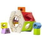免運費《 德國 HAPE 愛傑卡 》六角分類積木盒 ╭★ JOYBUS玩具百貨