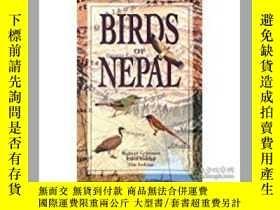 二手書博民逛書店Birds罕見of Nepal 尼泊爾鳥類識別手冊Y26437