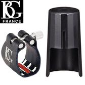 小叮噹的店- 豎笛束圈 法國 BG L4RS 黑管 皮質束圈+鍍銀墊片 附原廠吹嘴蓋 法國製