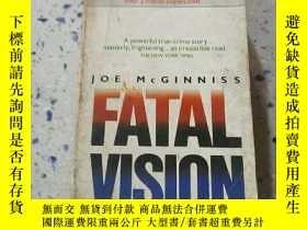 二手書博民逛書店FATAL罕見VISION:致命的願景(外文) 不好Y21282