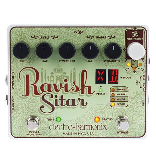 【敦煌樂器】Electro Harmonix Ravish Sitar 西塔琴效果器