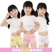 品牌4 條裝女童內褲純棉兒童內褲平角褲女小孩學生女孩寶寶春夏款 出貨