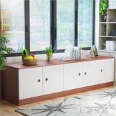 飄窗櫃子矮櫃儲物櫃可坐陽台落地飄窗櫃定制臥室收納櫃榻榻米地櫃 小艾時尚NMS