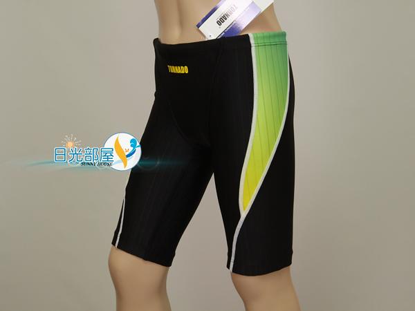 *日光部屋* TORNADO (公司貨)/15-SBR08-GRN 競泳款/低腰/馬褲型/男童泳褲(韓國知名品牌)