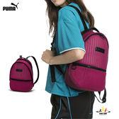 Puma Archive 暗紅 後背包 雙肩包 休閒 運動 旅行 大學包 雙肩後背包 07579201