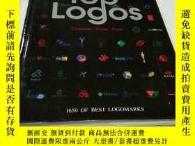 二手書博民逛書店TOP罕見LOGOS 1650 OF BEST LOGOMARK