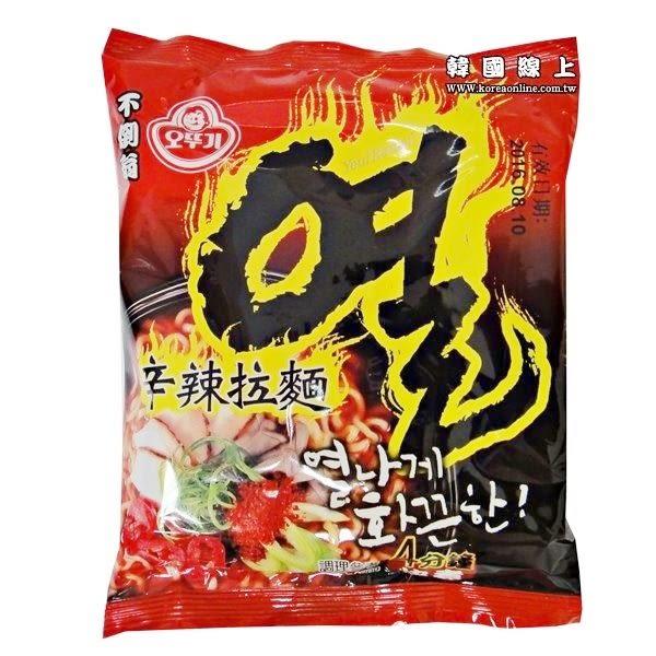 韓國OTTOGI 不倒翁辛辣拉麵(單包) 全球十大辣麵TOP3