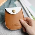 耳機收納包 ACECOAT便攜數據線收納包耳機包保護包卡片包零錢包小配件皮包袋 果果生活館