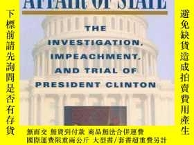 二手書博民逛書店An罕見Affair Of StateY256260 The Honorable Richard A. Pos