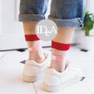 韓國透明水晶襪 OK蹦造形 個性 璃絲短筒襪 原宿風 日本 女襪 絲襪 透明襪 街頭 潮