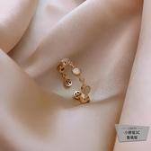 戒指女輕奢時尚個性簡約食指指環【小檸檬3C】