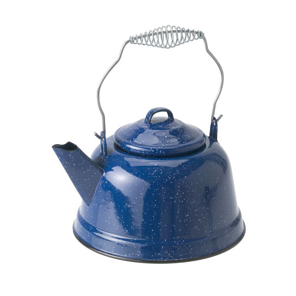 [GSI]藍色砝瑯茶壺-Tea Kettle- Blue(14021)