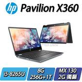【HP 惠普】HP Pavilion x360 Convert 14-dh0002TX TW 冰曜銀◢14吋窄邊框翻轉商務筆電 ◣