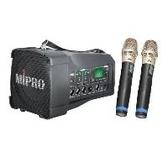 MIPRO MA-100DB MA100DB超迷你肩掛式無線喊話器 擴音機/教學機 內建USB 附兩支無線麥克風ACT-32H