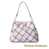 金安德森 春式浪漫 氣質優雅抽繩造型2Way側背包 粉色