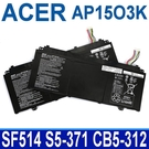 ACER AP15O3K . 電池 AP15O5L SPIN5 SF514-14 S13 S5-371 S5-371T Chromebook R13 CB5-312 CB5-312T