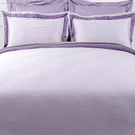 HOLA (組)雅緻天絲素色雙人床包組 絳紫