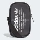 【六折特賣】adidas 側背包 NMD Pouch Bag 包包 隨身包 小包包 斜背包 黑 白【ACS】 DH3218