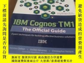 二手書博民逛書店IBM罕見Cognos TM1 The Offlcial Gui