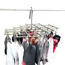 LISAN 35夾頭可摺疊式不銹鋼晾衣架/衣夾