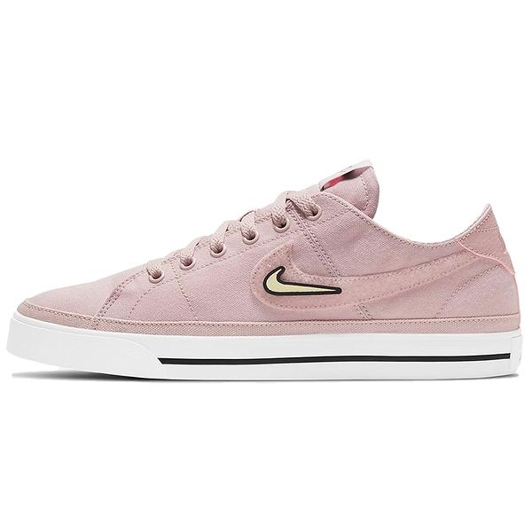 【現貨】Nike Court Legacy Valentine's Day 女鞋 休閒 情人節 可拆貼片 帆布 粉【運動世界】DD2058-600
