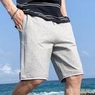 短褲 男士短褲新款夏季寬鬆直筒七分褲休閒中褲運動大碼工裝沙灘五分褲 16【618特惠】