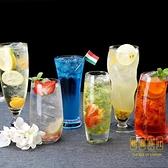 玻璃杯子果汁杯冷飲杯奶茶杯飲料杯冰淇淋奶昔杯雪糕杯【輕奢時代】