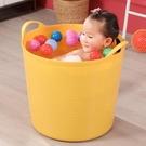 洗澡桶 特大號兒童洗澡桶加高保溫沐浴桶加厚泡澡桶浴盆塑料寶寶浴桶【快速出貨八折鉅惠】