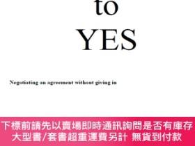 二手書博民逛書店Getting罕見to Yes-Negotiating Agreement Without Giving In
