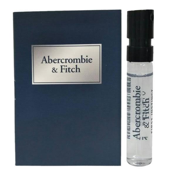ABERCROMBIE & FITCH A&F 湛藍男性淡香水 2ml 針管《Belle倍莉小舖》