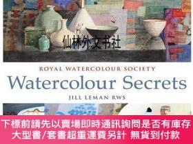 二手書博民逛書店【罕見】Watercolour SecretsY27248 ill Leman Bloomsbury Publ