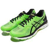 【五折特賣】Asics 慢跑鞋 Gel-Kayano 23 綠 黑 穩定透氣 網布 運動鞋 男鞋【PUMP306】 T646N8590