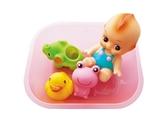 Toyroyal 樂雅 軟膠洗澡組/洗澡玩具/安撫玩具 -大
