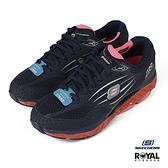 Skechers SRR 藍色 網布 足弓推進器 回彈力慢跑鞋 女款NO.J0594【新竹皇家 99999742NVCL】