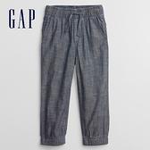 Gap男幼童 輕薄寬鬆休閒褲 682108-藍色
