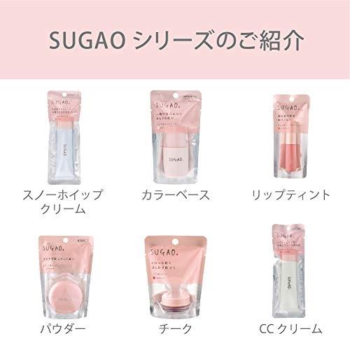 【2019新版】日本 SUGAO 雪紡紗輕裸蜜粉 4.5g 透明肌 底妝定妝 無香料【小福部屋】