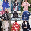 防曬衣 日本改良和服睡衣女原宿bf和風日式浴衣復古開衫防曬衣外套學生潮 曼慕衣櫃