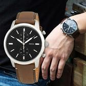 FOSSIL 自信風範時尚質感腕錶 FS5280 熱賣中!