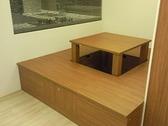 系統家具 廚具 系統櫃 收納和室地板 可當麻將桌使用 EGGER 180CM*180 E1V313 塑合板