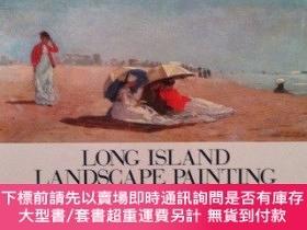 二手書博民逛書店Long罕見Island Landscape Painting, 1820-1920-長島風景畫,1820-192